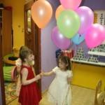 дети, шарики, день рождение в клубе